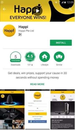 tải ứng dụng happi
